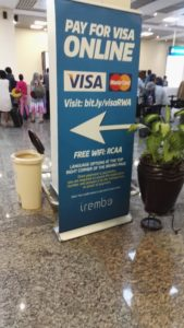 Get yer visas