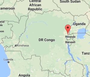 Nyiragongo map location