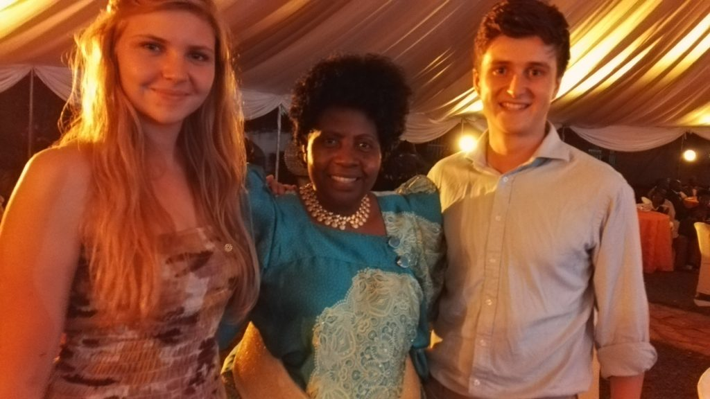 Traditional Uganda dress