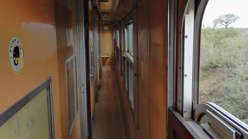 The Lunatic Express carriage