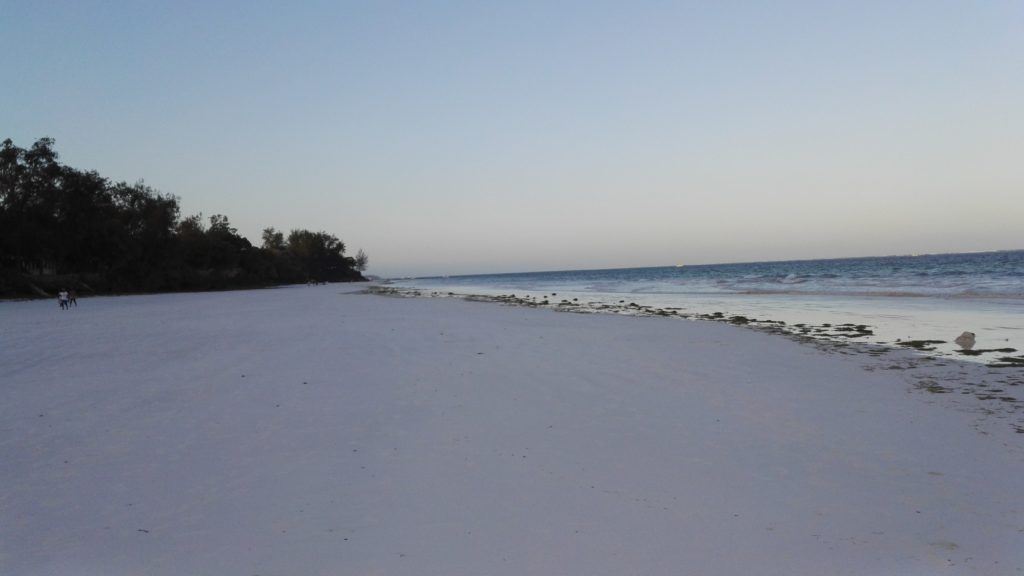 Diani Beach sunset
