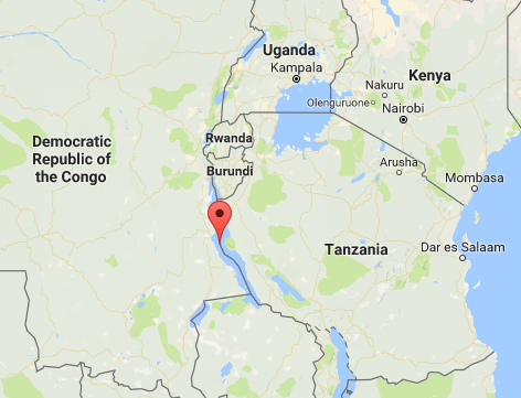 The lowest point in Africa. In Tanzania, just.