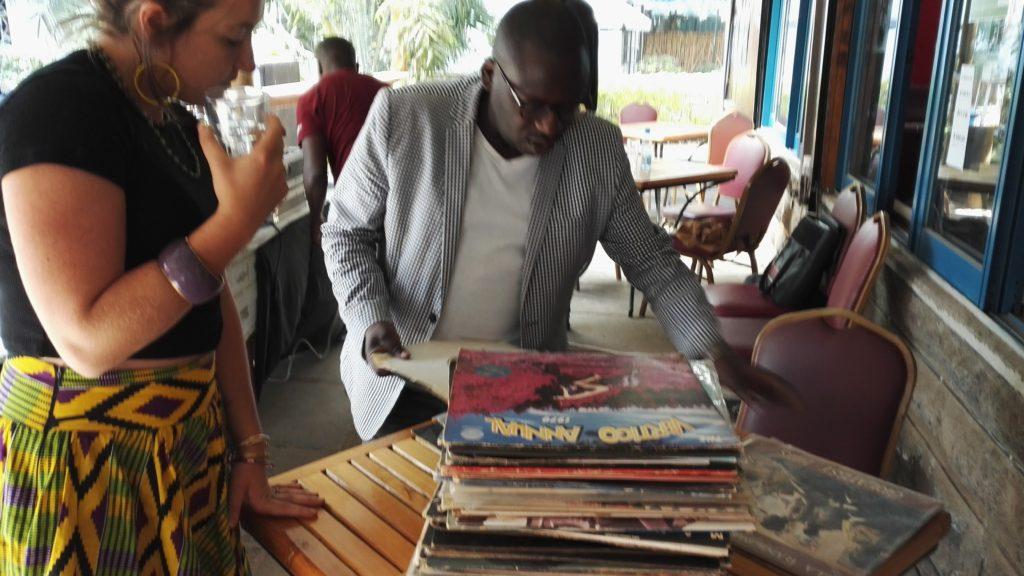 Sunday afternoon vinyl shopping