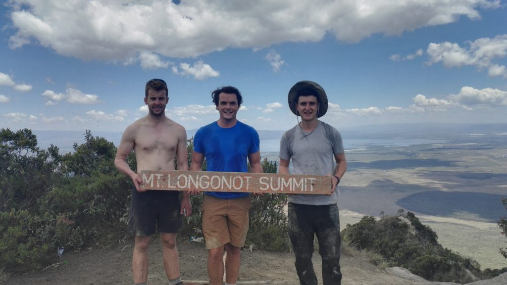 Top of Mount Longonot